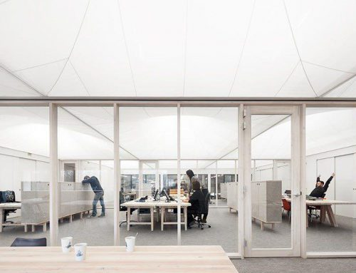 تبدیل سوله ای قدیمی به دفتر کار مدرن