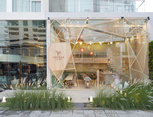 طراحي داخلي رستوران SHUGAA در بانكوك تايلند